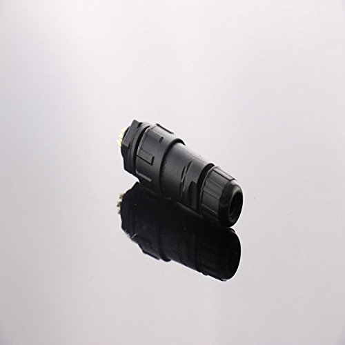 UXOXAS IP68 Shielded 9-pin M14 Waterproof Connector, Industrial Panel Mount Electrical, Cable Diameter: 2.5-7.5mm