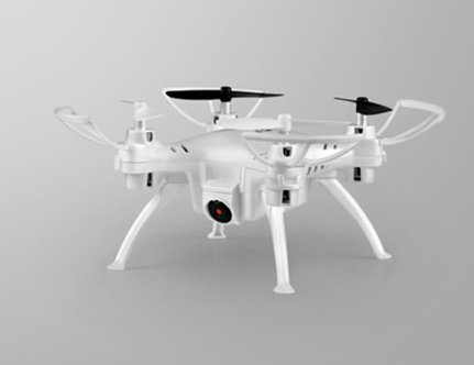 ドローン 小型 カメラ付き スマホ ドローン ラジコン (WHITE)[TK106 RHW]ミニドローン 2 4GHz 6軸ジャイロ Wi-Fi対応 空撮 高性能 宙返り飛行[日本語取扱説明書付]