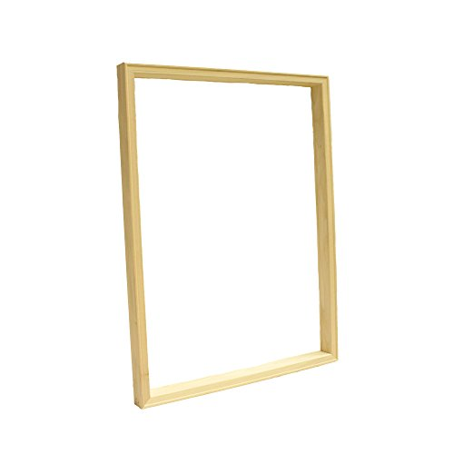 "ArtWall Solid Wood Frame, with Corrugated Cardboard Art Shipping Box, 12"" Length x 32"" Width x 1-1/2"" Depth"
