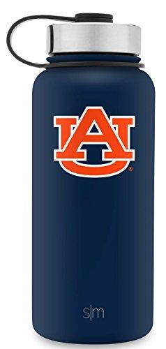 Simple Modern University Collegiate 32oz Summit Water Bottle Auburn Tigers