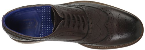 Mens Da Panettiere Guri 7 In Pelle Marrone Oxford