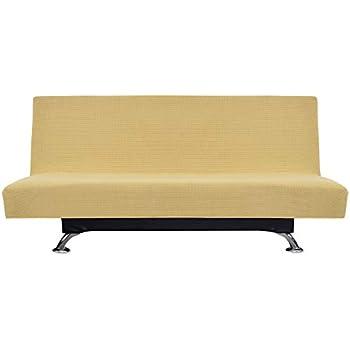 Amazon Com Easy Going Stretch Sofa Slipcover Armless Sofa