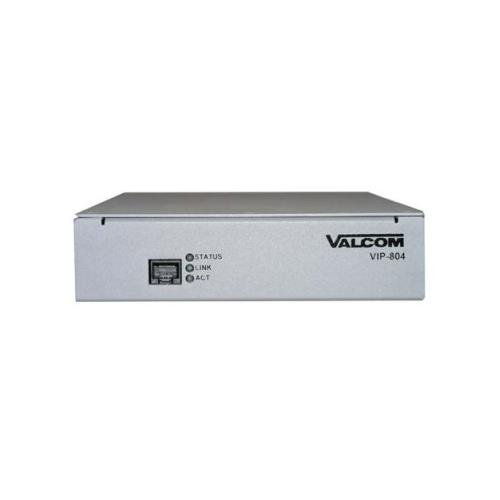 VALCOM VC-VIP-804 Quad Enhanced Network Audio Port