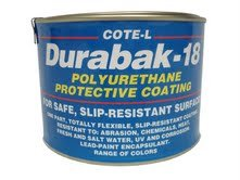 9. Durabak 18 Non-Slip Coating, Deck Paint for Boats