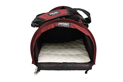 STURDI PRODUCTS SturdiBag Cube Pet Carrier, Large, Bordeaux