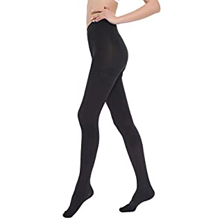 Medical Compression Pantyhose for Women Men - Opaque Compression Stockings 20-30mmHg Firm Graduated Support Hose Tights