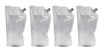 Concealable Undetectable Flask Kit for Cruise (8x 32oz flasks, funnel included)