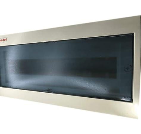 Caja distribucion electrica Superficie IP30 de 18 modulos Blanco ...