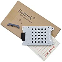 Eathtek Replacement HDD Hard Drive Caddy with Connector for Dell Inspiron 1721 1720 Vostro 1700 series, Compatible with part# 0FP444 FP444 CN-0FP444 TJ41A