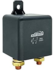 12V 4-pin Heavy Duty Relay/Split Charge Relay - 4 Terminal Relay - Coil Power 1.8 W