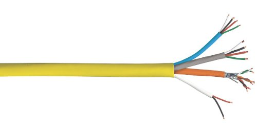 General Cable - 4EPL1S.38.05 - Access Control Cable, Plenum, Yellow