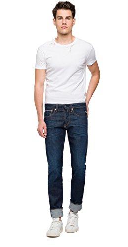 Blu Replay Uomo 7 Ronas dark Jeans Blue Slim BO1IZqp