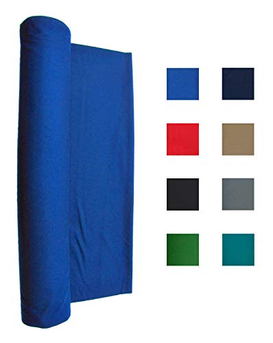21 Ounce Pool Table Felt - Billiard Cloth - For an 8 Foot Table Blue