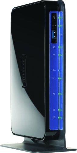 Netgear DGND3800B-100GRS N600 Modem-Router (VDSL/ADSL (Annex B, Annex J), Dual-Band 5-Port Gigabit, 4x LAN, 1x WAN, 2x USB 2.0) - Nur für Deutschland