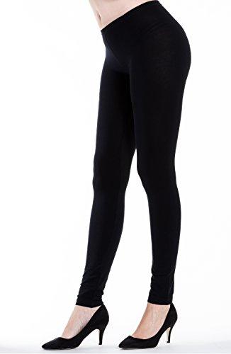 Sionview Womenss Cotton Spandex Skinny Legging