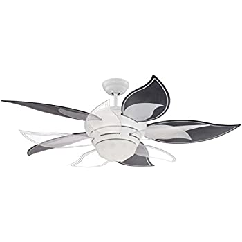 Superior Craftmade BL52W Bloom Ceiling Fan, 52