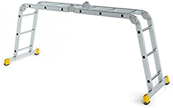 Forte Tools Escalera, universal para ganchos de tejado para escalera – Carga máxima: 150 kg: Amazon.es: Bricolaje y herramientas