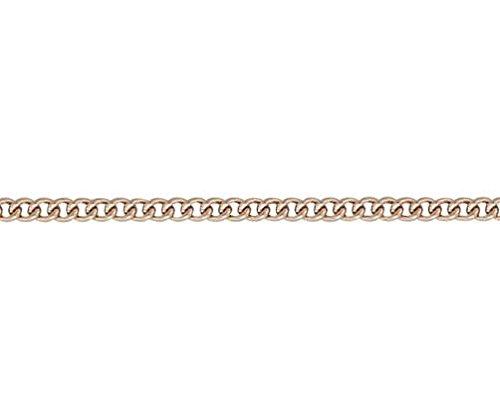 Gourmette en or 9carats Rouge/rose 19,1cm/Bracelet 19cm