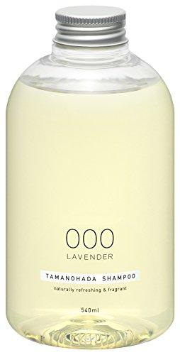 TAMANOHADA Shampoo Naturally Refreshing and Fragrant, No. 000 Lavender, 18.25 Fluid Ounce