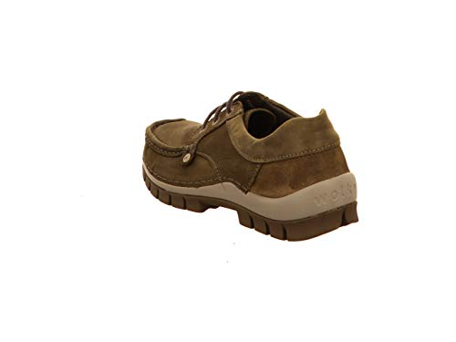 de à Femme pour Chaussures Wolky Ville Vert Lacets 5AxYtffnwU