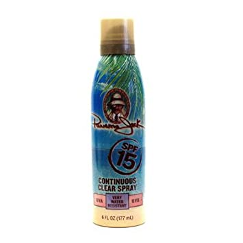 Panama Jack Continuous Spray Clear SPF 15 6 oz.