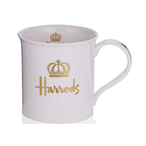 Harrods London, Gold Crown Mug/Cup - USA Stocks (China Mug Jubilee)