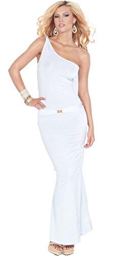 Buy asymmetrical belted dress - 6
