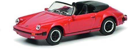 Schuco 452637600, rot 452637600-Porsche 911 3.2, 1:87, Modellauto, Modellfahrzeug