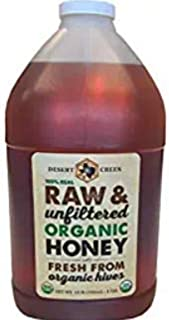 product image for Raw, Unfiltered, Organic Honey, 1 Gallon, by Desert Creek Honey
