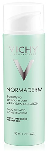 Vichy Normaderm Beautifying Salicylic Acid Acne Treatment, 1.7 Fl Oz
