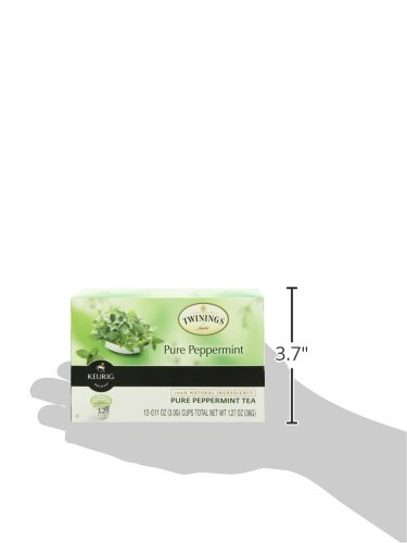 Twinings of London Pure Peppermint Tea K-Cups for Keurig, 12 Count (Pack of 6) by Twinings (Image #5)