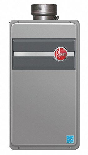 (Rheem RTG-84DVP Low Nox Direct Vent Tankless Water Heater Liquid Propane Energy Star 8.4 GPM)