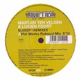 Martijn Ten Velden & Lucien Foort / Bleeep (Remixes)