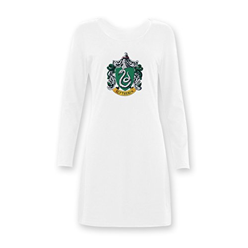 Jane Harry Potter Slytherin Academy Women's Girls Long Nightshirts XS-XXXL (Harry Potter Dressing Up)