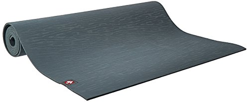 Manduka eKO Yoga and Pilates Mat, Thunder, 5mm, 79'