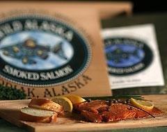 Smoked Chinook (King) Salmon-1/4 Pound Fillet ()
