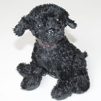 - BeanTowne Collection - 9.5 inch Chamomile Tea Scented Soy Black Lab Large Dogs (No Burn Room Fragrancer)