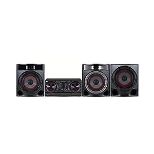 LG LOUDR CJ45 Hi-Fi System – Black