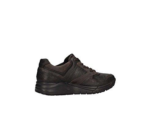 Scarpe IGI&CO antracite nero pelle allacciata fondo gomma, nuova collezione autunno inverno 2017/2018 Antracite