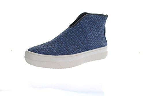 Women's Bernie Mev Mid Accent Slip On Sneakers Jeans (38 M)