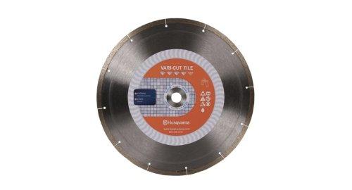 Disco de Diamante HUSQVARNA 542761284 azulejos de porcelana con corte 10 pulg. x .070 pulg. x 5/8 pulg.