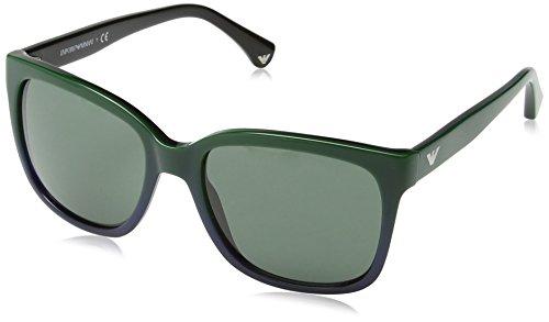 Gradient Armani Bluee 534971 C55 Emporio EA4042 Green Hp808