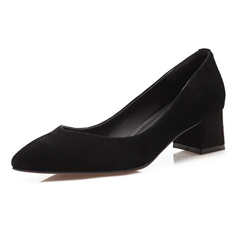Compensées Sandales Noir ERR00060 36 Noir 5 Aimint Femme FCpEqxpz