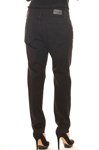 Taglia Nero Cotone In Contenitivi Donna Costa Emanuela Jeans Conformata Denim 8qRRpY