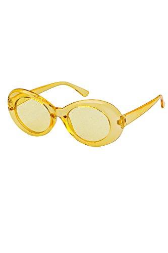 Yellow2p Gafas Colorido De Mujeres UV400 Sol 2P Moda Para Oval De HqH4wv