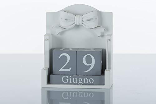 Calendario perpetuo Shabby Chic Gala Subitodisponibile