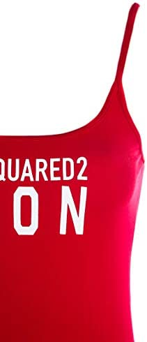 Dsquared2 Icon Ladies Vest Top in Red