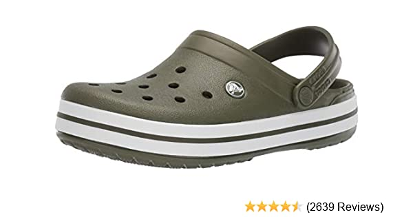 3933c03ac6ae1 Amazon.com | Crocs Men's and Women's Crocband Clog | Comfort Slip On Casual  Water Shoe | Lightweight | Shoes
