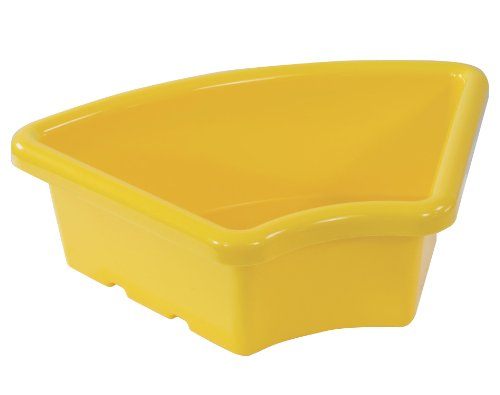 ECR4Kids Fan Tray without Lid Yellow, 20 Pack Computer, E...