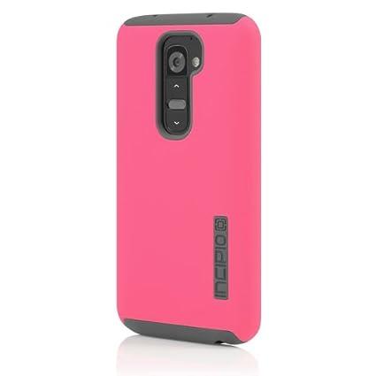 Amazon.com: Incipio dualpro – Carcasa para LG G2, rosado ...